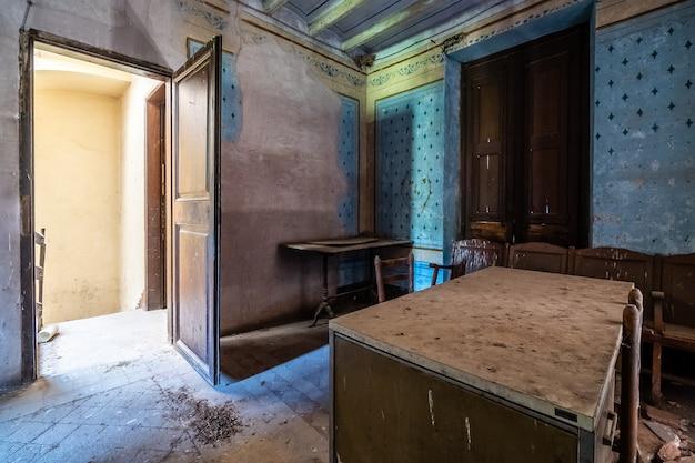 Bureau abandonné