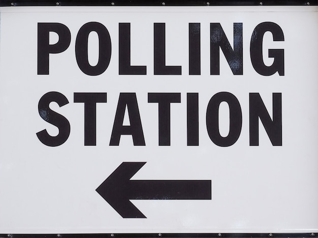 Bureau de vote au royaume-uni