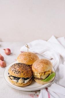 Burger végétarien fait maison