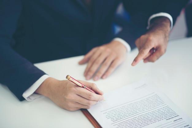 Business approuver concept, concept d'entreprise de succès