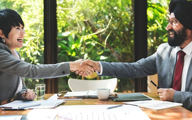 Business corporate people concept de travail