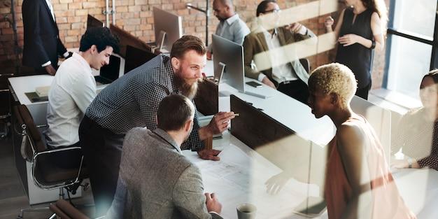 Business people design concept d'idées d'architecture
