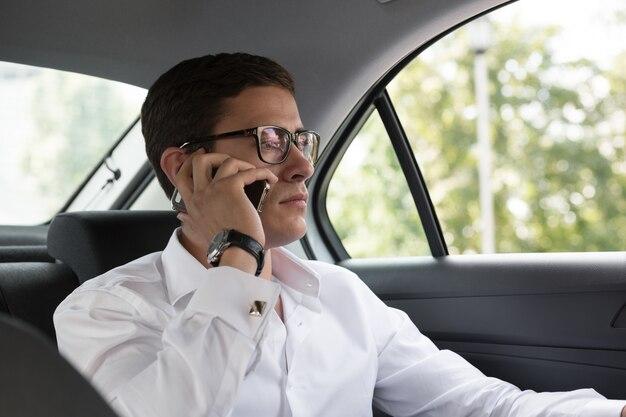 Business talk en voiture