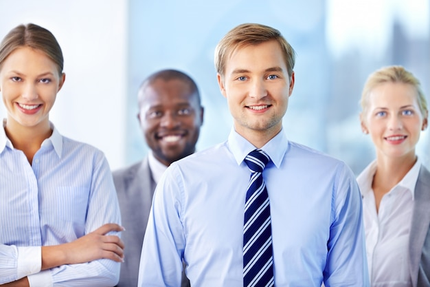 Business team dans le bureau