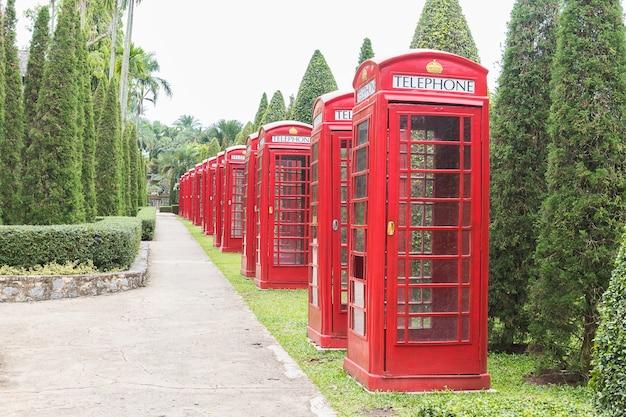 Cabine téléphonique rouge britannique