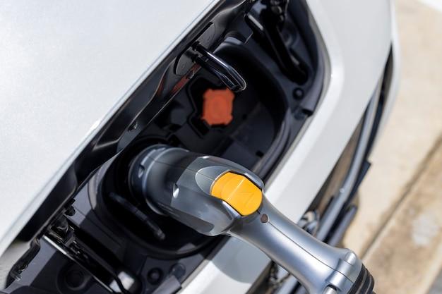 Câble d'alimentation pompe brancher l'alimentation de charge à la voiture électrique ev