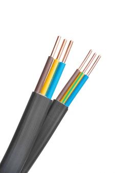 Câble blindé électrique avec plusieurs fils