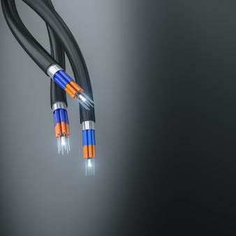 Câble à fibre optique
