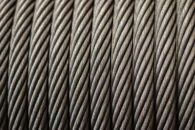 Câble métallique dans un palan
