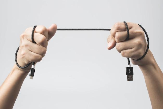 Câble usb fort