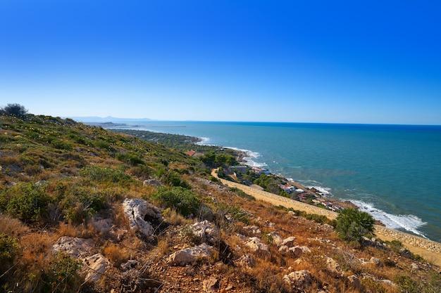Cabo san antonio cape à denia en espagne