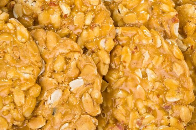 Cacahuètes chikki