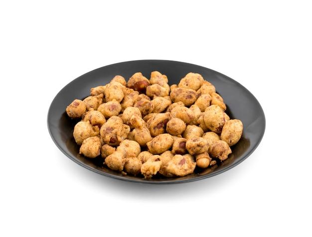 Les cacahuètes indiennes croustillantes de masala sont également connues pour chanter bhujia.