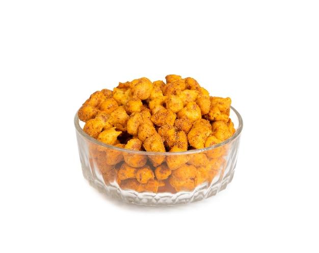 Cacahuètes masala croustillantes indiennes