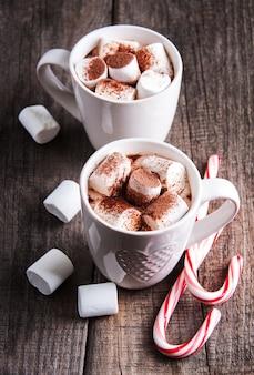 Cacao de noël à la guimauve