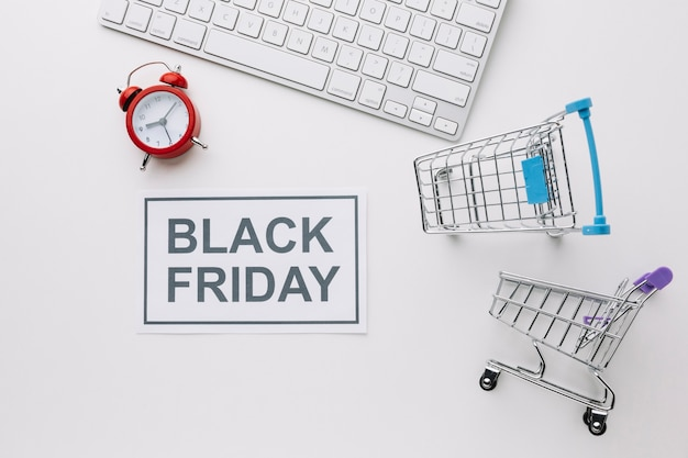Caddies et clavier black friday