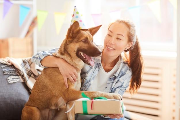 Cadeau d'anniversaire pour chien
