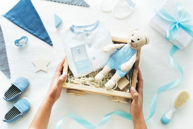 Cadeau de baby shower bébé garçon