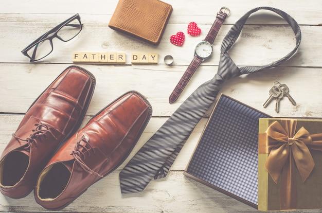 Cadeau et mot de la fête des pères