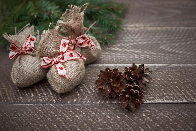 Des cadeaux directement de la forêt