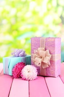 Cadeaux et fleurs