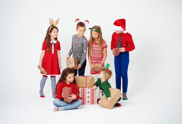Les cadeaux de noël sont pour les enfants