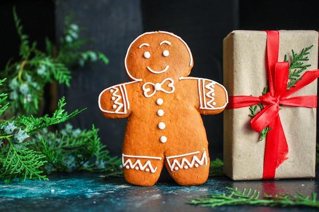 Cadeaux et vacances en pain d'épice