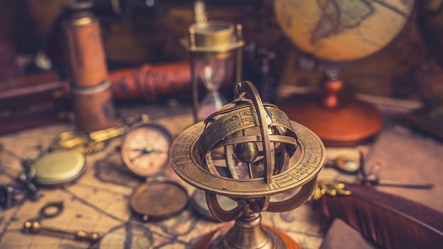 Cadran solaire avec signe du zodiaque