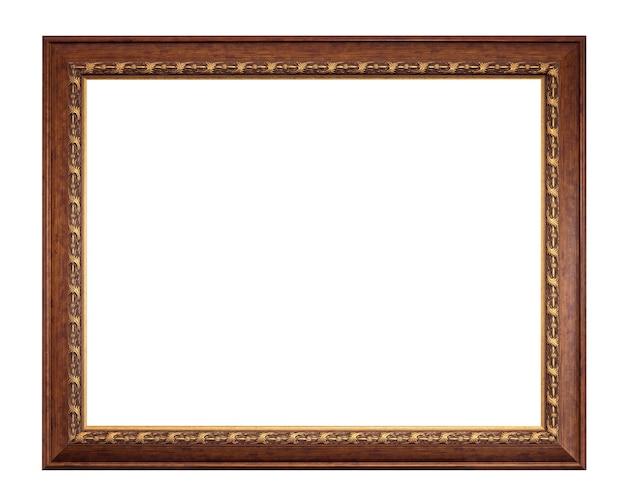 Cadre antique photo isolé sur blanc