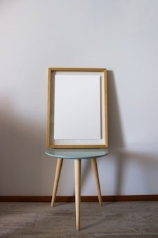 Cadre en bois de décoration pour affiche ou photographie