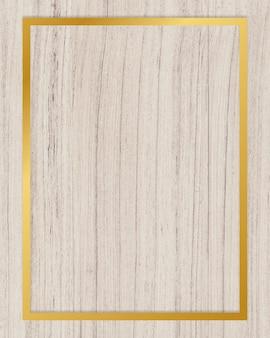 Cadre en bois texturé