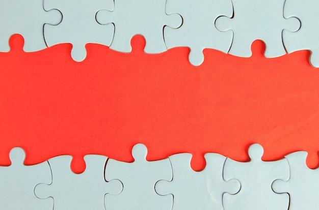 Le cadre du puzzle pour votre texte