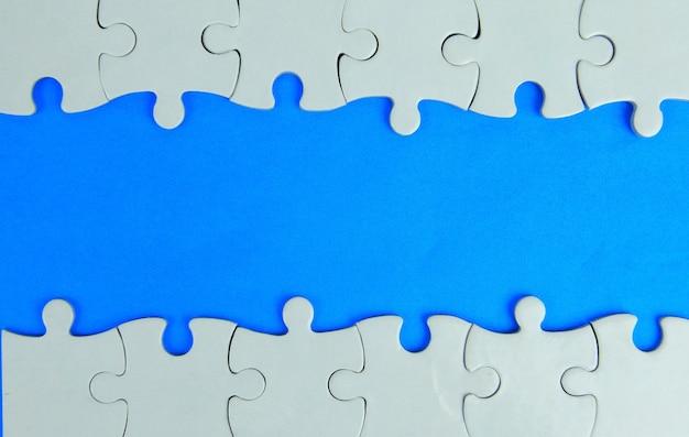 Le cadre du puzzle pour votre texte.