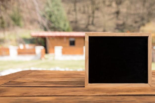 Cadre avec espace copie