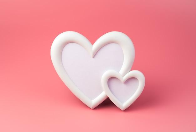 Cadre en forme de cœur