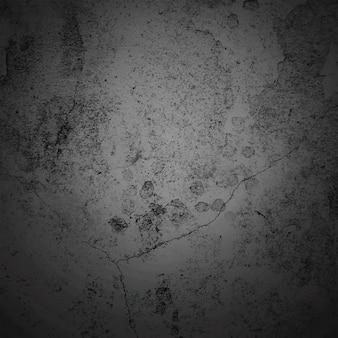 Cadre de frontière vignette sombre abstrait avec fond de texture gris