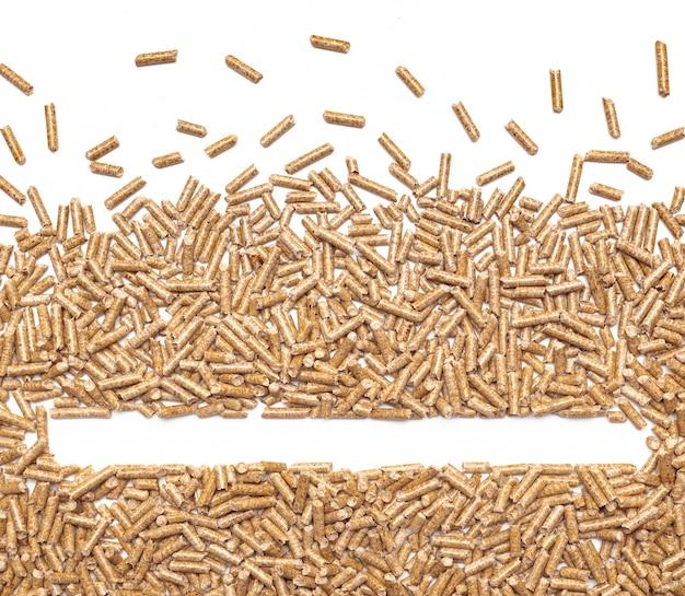 Cadre de granulés de bois