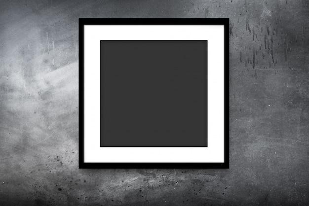 Cadre moderne noir