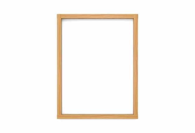 Cadre de photo en bois moderne vide simple style classique vertical