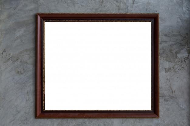 Cadre photo, cadre vide pour le texte