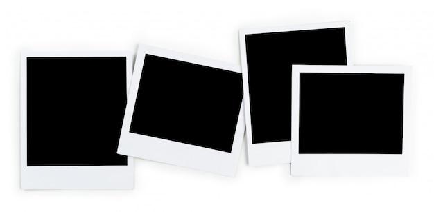 Cadre photo isolé sur blanc