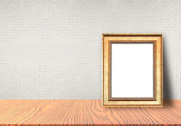 Cadre photo mis sur table