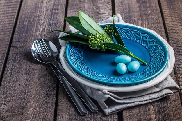 Cadre de table de pâques