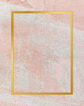 Cadre de toile de fond en stuc