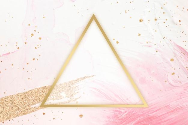 Cadre triangle féminin