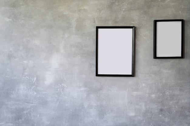 Cadres photo en bois noir, collection de jeu sur mur moderne, décoration intérieure