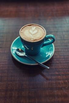 Café au lait chaud