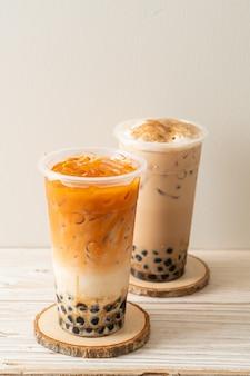 Café boba frais ou bubbletea