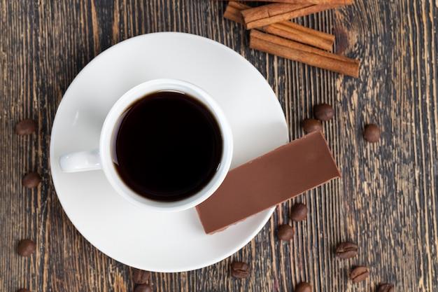 Café et bonbons