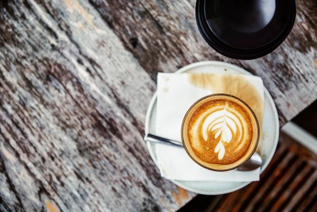 Café café boisson boisson café latte art concept